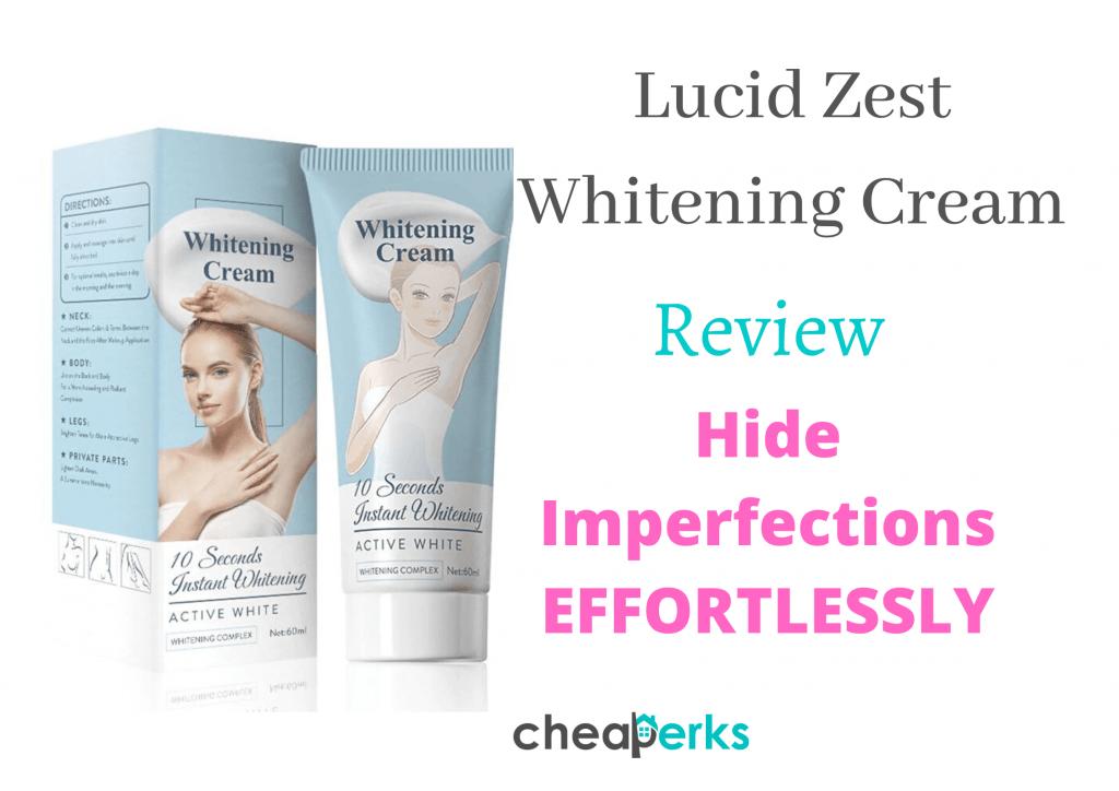 lucid zest whitening cream reviews