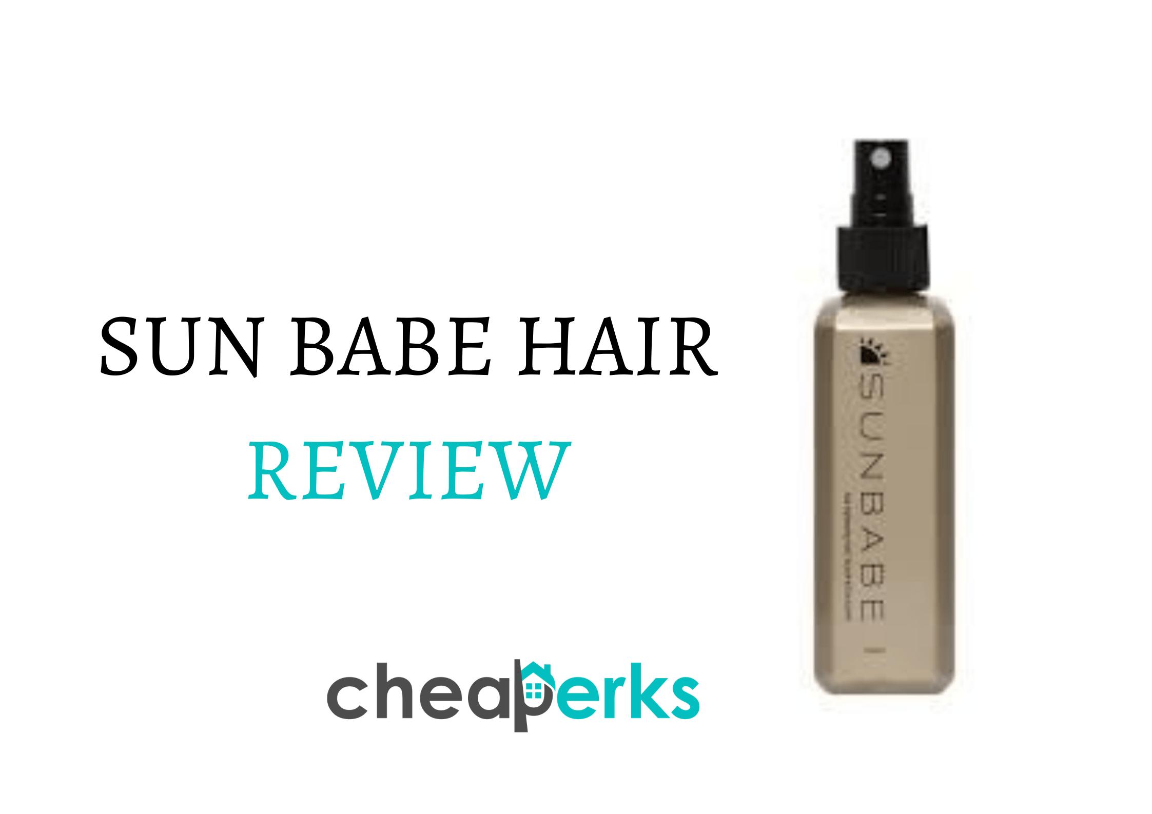 SUN BABE HAIR REVIEW