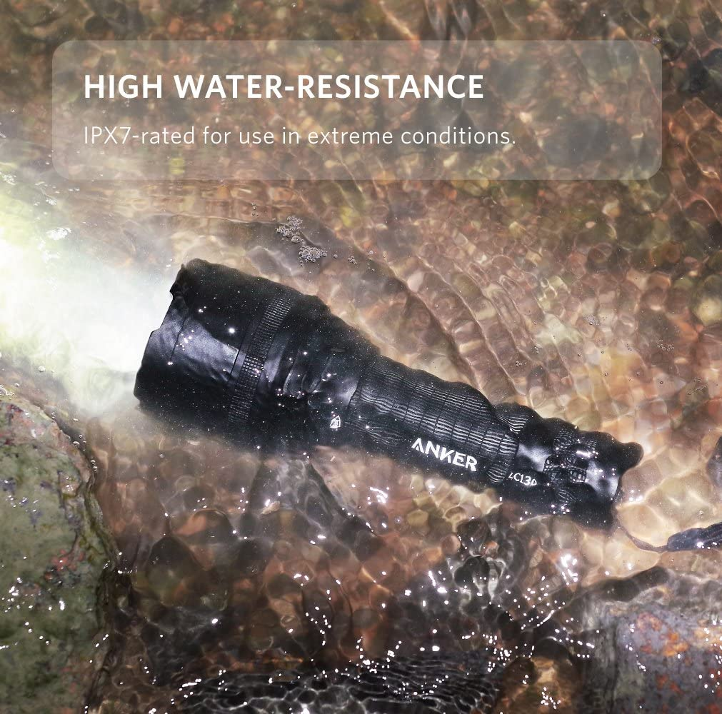 Anker 1300 Lumens Tactical Flashlight