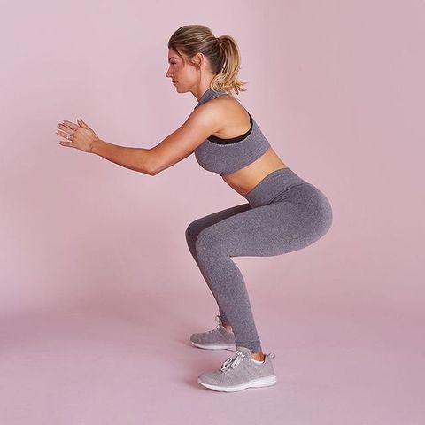 women squats
