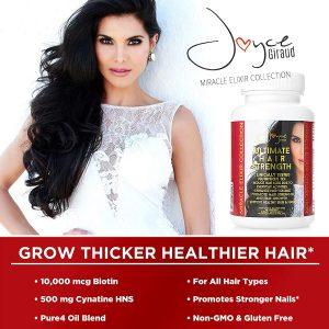 ingredients of Joyce Giraud Hair Supplements