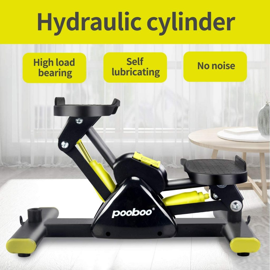 L NOW Adjustable Mini Stair Stepper - one of best cardio machines that burn the most calories
