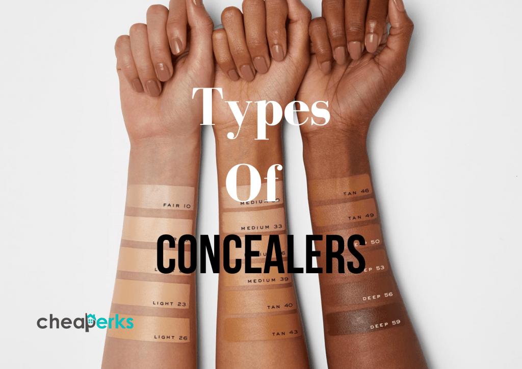 types of concealers