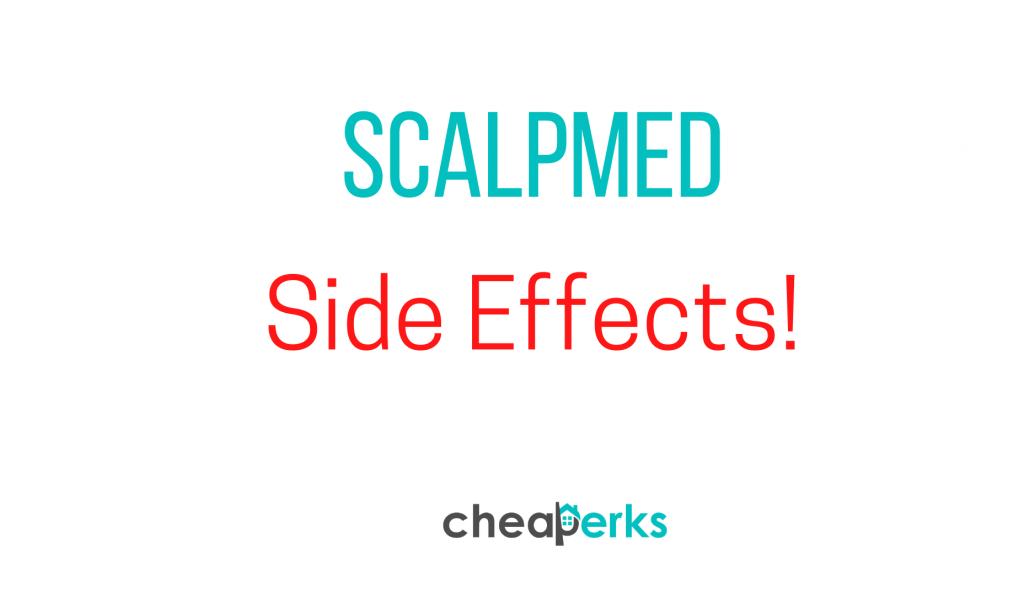scalpmed sideeffects