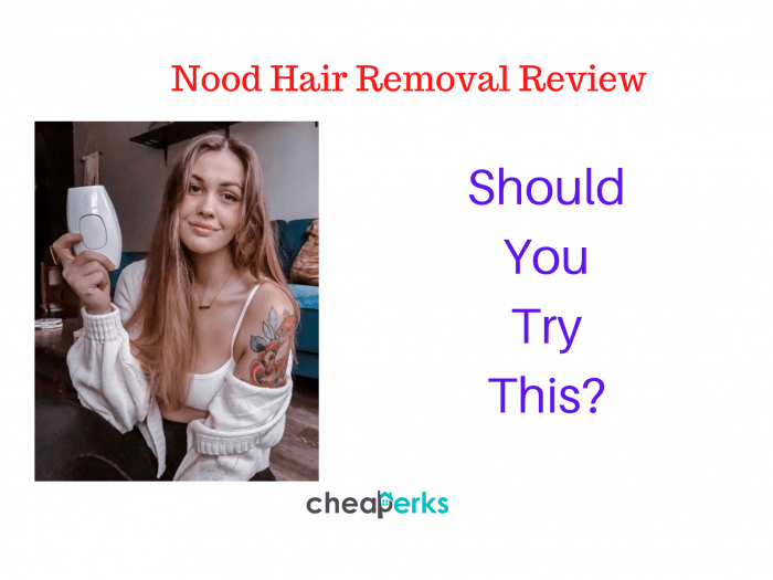 Nood Hair Removal Reviews