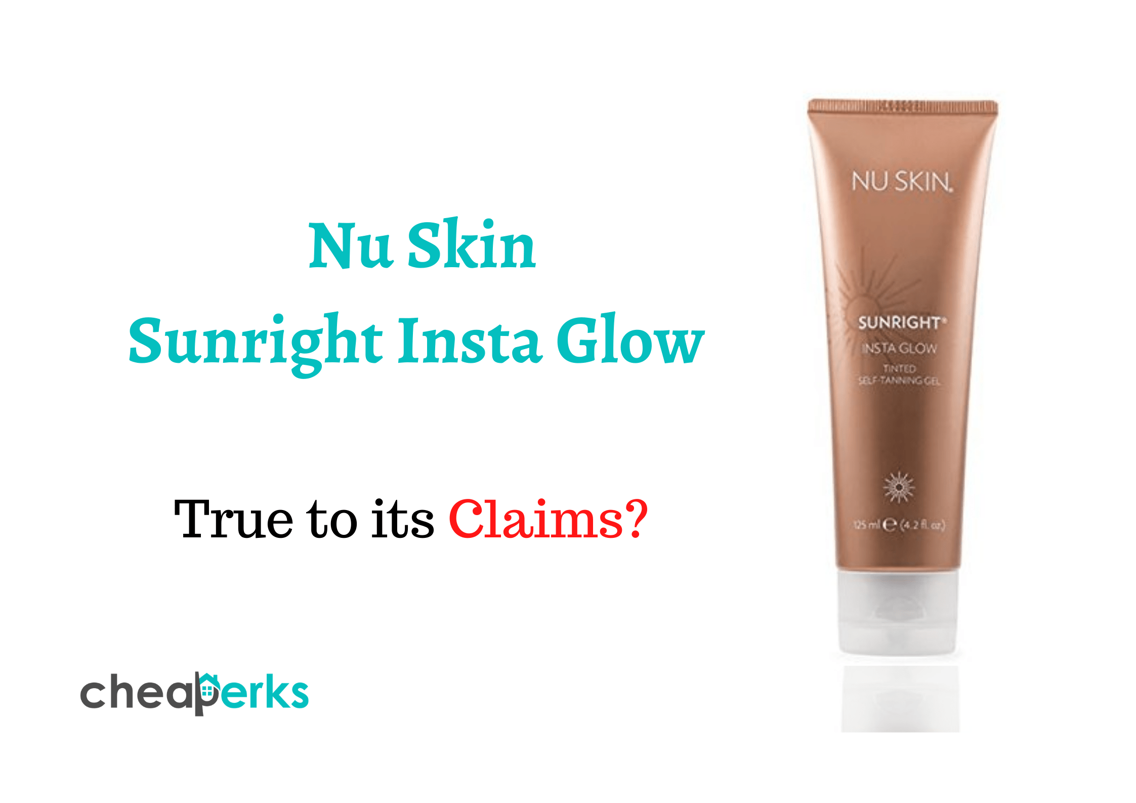 Nu Skin Sunright Insta Glow Reviews