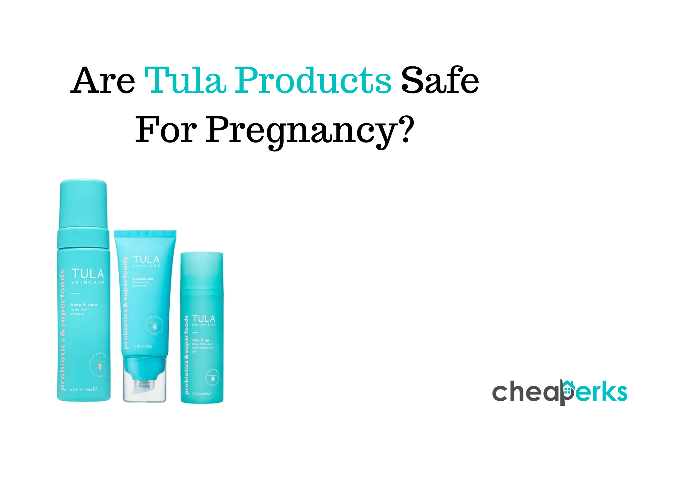Are Tula Products Safe For Pregnancy