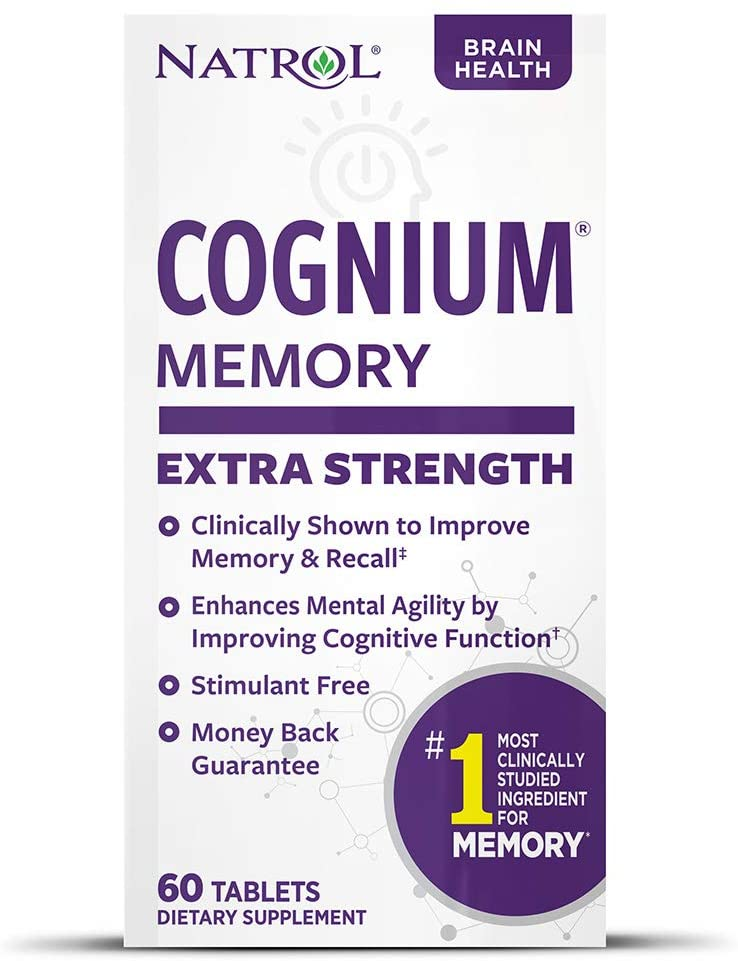 Cognium Review (Natrol Cognium Extra Strength)
