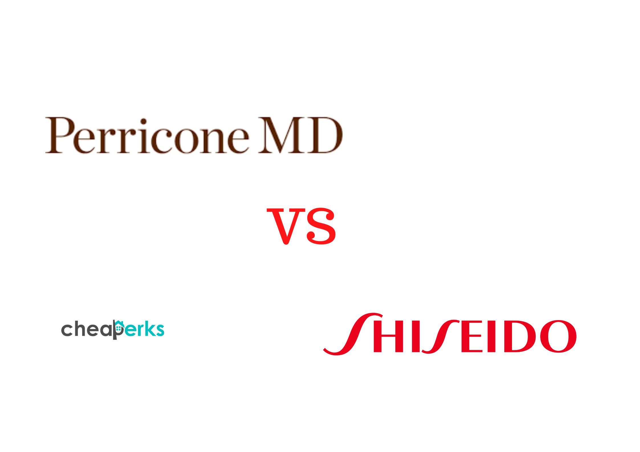 Perricone MD VS Shiseido