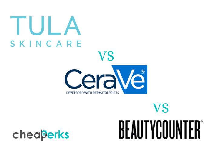 Tula Skincare VS Cerave VS Beautycounter