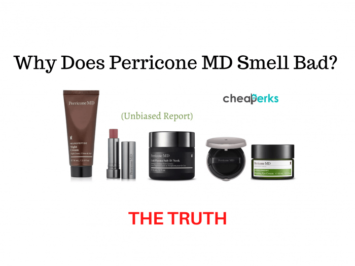 Why Does Perricone MD Smell Bad